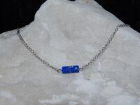 Jasserson, stainless steel, natuursteen blauw
